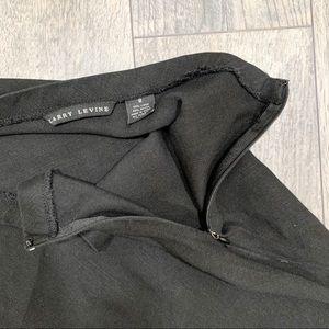 Larry Levine Skirts - Larry Levine Black Asymmetrical Midi Skirt. Size 8